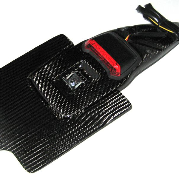 CMT Compositi - Carbon license plate holder  for Honda CR 250 2002 - 2003 - 2004 - 2005 - 2006 - 2007