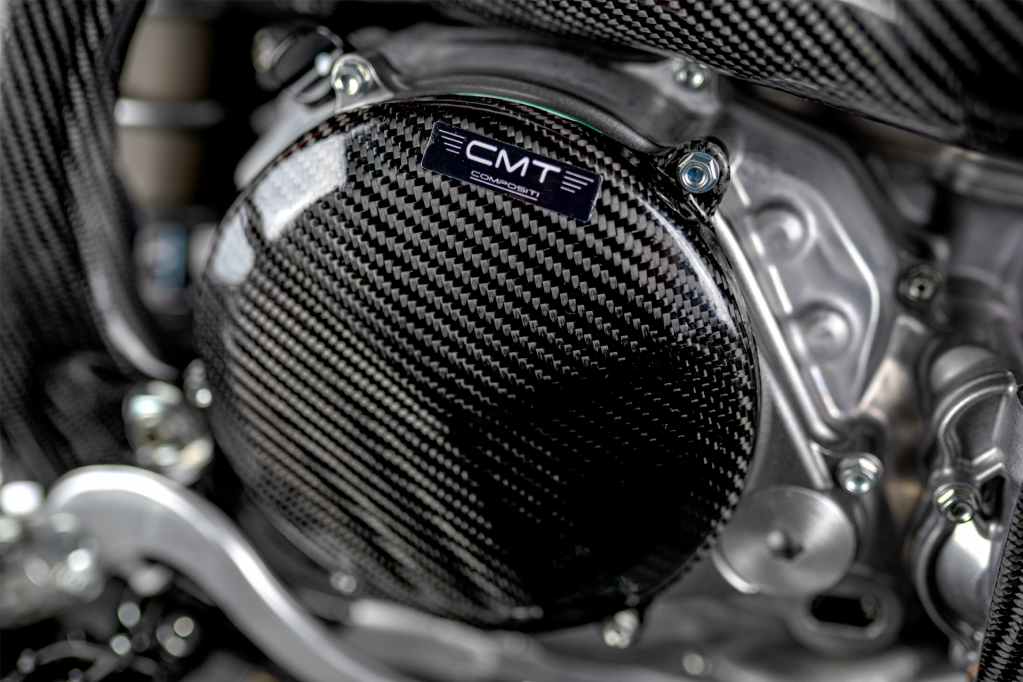 CMT Compositi - Carbon clutch protection for Honda CRF 450 2017 - 2018
