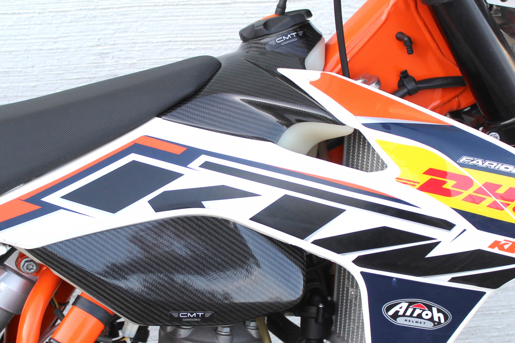 CMT Compositi - Carbon tank upp. cover for KTM EXC-f 500 (US - USA MODEL)  2012 - 2013 - 2014 - 2015 - 2016
