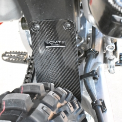 CMT Compositi - Carbon Rear Shock Guard