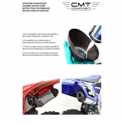 CMT Compositi - carbon cap cover exhaust