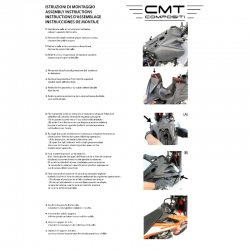 CMT Compositi - Carbon tank upp. cover