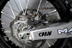 CMT Compositi - Carbon rear caliper guard