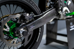 CMT Compositi - Carbon swingarm protection